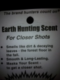 Earth Hunting Scent