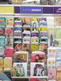 Speaking of rich kids, if you ever wanted a Justin Bieber-themed wedding, there's currently no shortage of Bieber greeting cards at your local store!