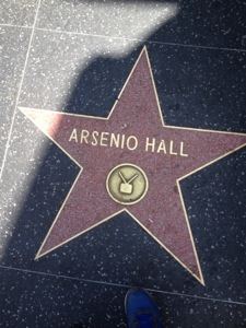 Arsenio Hall Star Hollywood Walk Of Fame