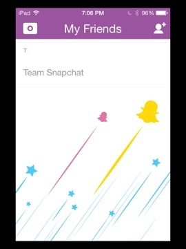 Snapchat Homescreen